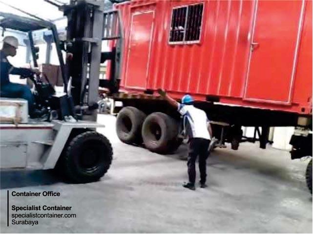 kantor kontainer bisa dipindahkan