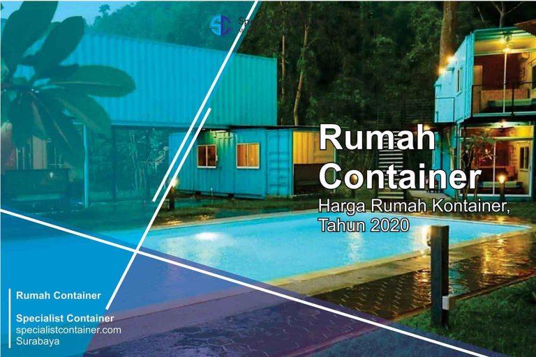Ini Harga Rumah Kontainer Tahun 2021 - Specialist Container