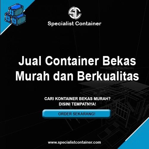 Jual Container Bekas Murah dan Berkualitas - Specialist Container