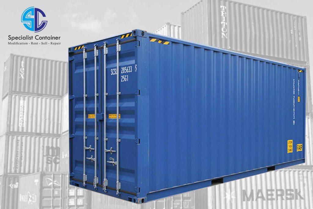 Ukuran Container 20 Feet itu Segini