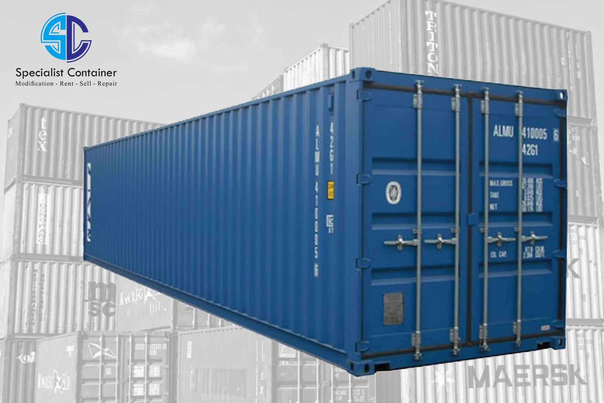 Ukuran Container 40 Feet Ternyata Segini