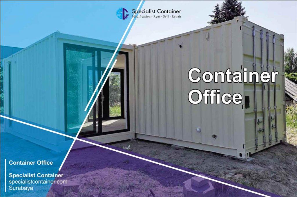 Jual Office Container Baru Bekas Murah Berkualitas