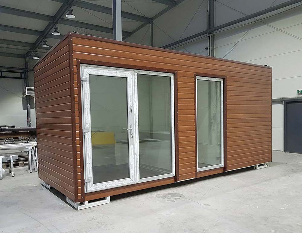 harga office container